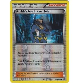 Pokemon Archie's Ace in the Hole - 124/160 - Uncommon Reverse Holo