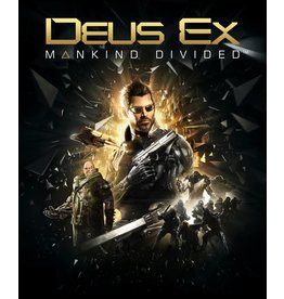 Square Enix Deus EX: Mankind Divided - Playstation 4