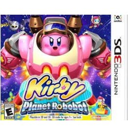 Nintendo Kirby Planet Robobot - 3DS