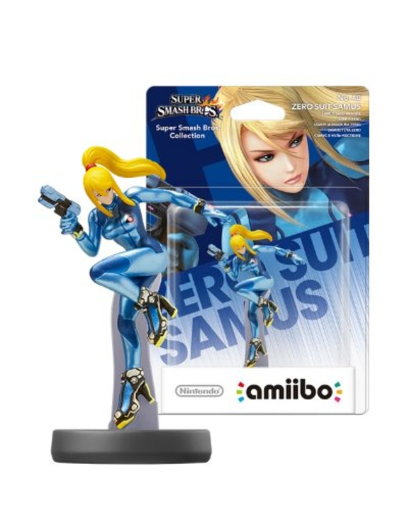 Nintendo Nintendo - Amiibo - Zero Suit Samus