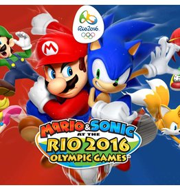 Nintendo Mario and Sonic at the Rio 2016 Olympic Games - 3DS
