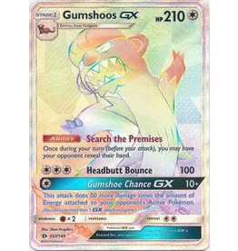 Pokemon Gumshoos GX - 157/149 - Hyper Rare