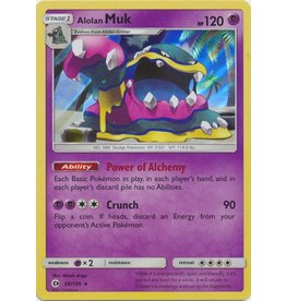 Pokemon Alolan Muk - 58/149 - Holo Rare