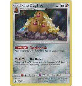 Pokemon Alolan Dugtrio - 87/149 - Holo Rare