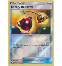 Pokemon Energy Retrieval - 116/149 - Uncommon Reverse Holo