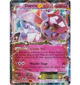 Pokemon Diancie EX - 72/124 - EX Holo Rare