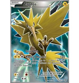 Pokemon Zapdos - 29/83 - Full Art Ultra Rare
