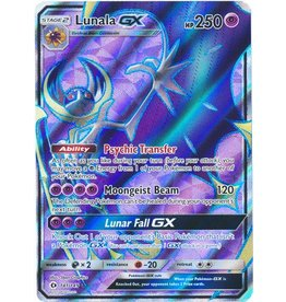 Pokemon Lunala GX - 141/149 - Full Art Rare