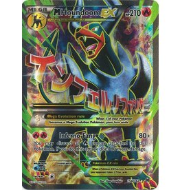 Pokemon Mega Houndoom-EX - 154/162 - Full Art Holo Rare EX
