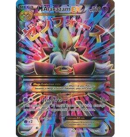 Pokemon Mega Alakazam - 118/124 - Full Art EX Rare