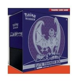 Pokemon Sun & Moon - Sun & Moon Elite Trainer Box - Lunala