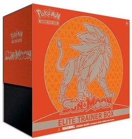 Pokemon Sun & Moon - Sun & Moon Elite Trainer Box - Solgaleo