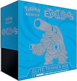 Pokemon XY - Evolutions Elite Trainer Box - Blastoise