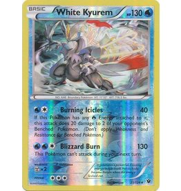 Pokemon White Kyurem - 21/124 - Holo Rare Reverse Holo