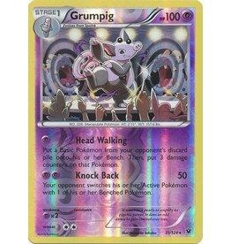 Pokemon Grumpig - 31/124 - Rare Reverse Holo