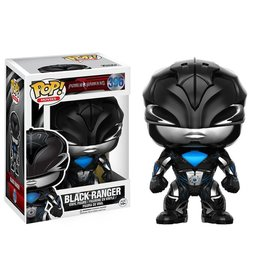 Funko Pop! Movies - Power Rangers - Black Ranger 396