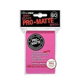 Ultra Pro Ultra Pro - Card Protector Small - Matte Bright Pink