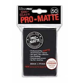 Ultra Pro Ultra Pro - Card Protector Standard - Matte Black