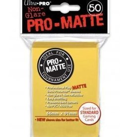 Ultra Pro Ultra Pro - Card Protector Standard - Matte Yellow