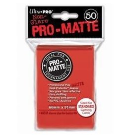 Ultra Pro Ultra Pro - Card Protector Standard - Matte Red