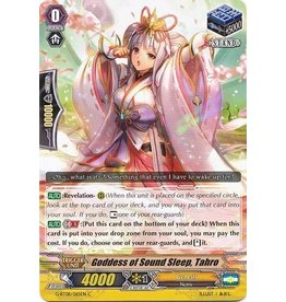 Bushiroad Goddess of Sound Sleep, Tahro - G-BT08/065 - C