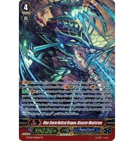 Bushiroad Blue Storm Helical Dragon, Disaster Maelstrom - G-BT09/010 - SP