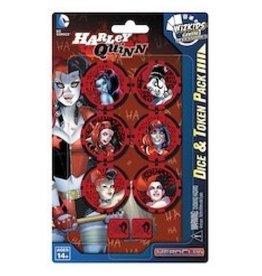 WizK!ds Heroclix - DC - Harley Quinn Dice & Token Pack