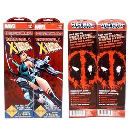 WizK!ds Heroclix - Marvel - Deadpool & X-Force - Booster