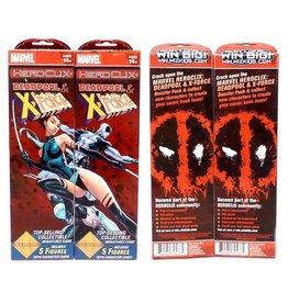 WizK!ds Heroclix - Marvel - Deadpool & X-Force - Booster