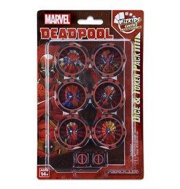WizK!ds Heroclix - Marvel - Deadpool & X-Force - Dice & Token
