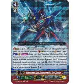 Bushiroad Dimensional Robo Commander-Admiral, Final Daimax - G-CHB02/006 - RRR