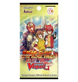 Bushiroad Vanguard - Raging Clash of the Blade Fangs G-BT10 - Booster