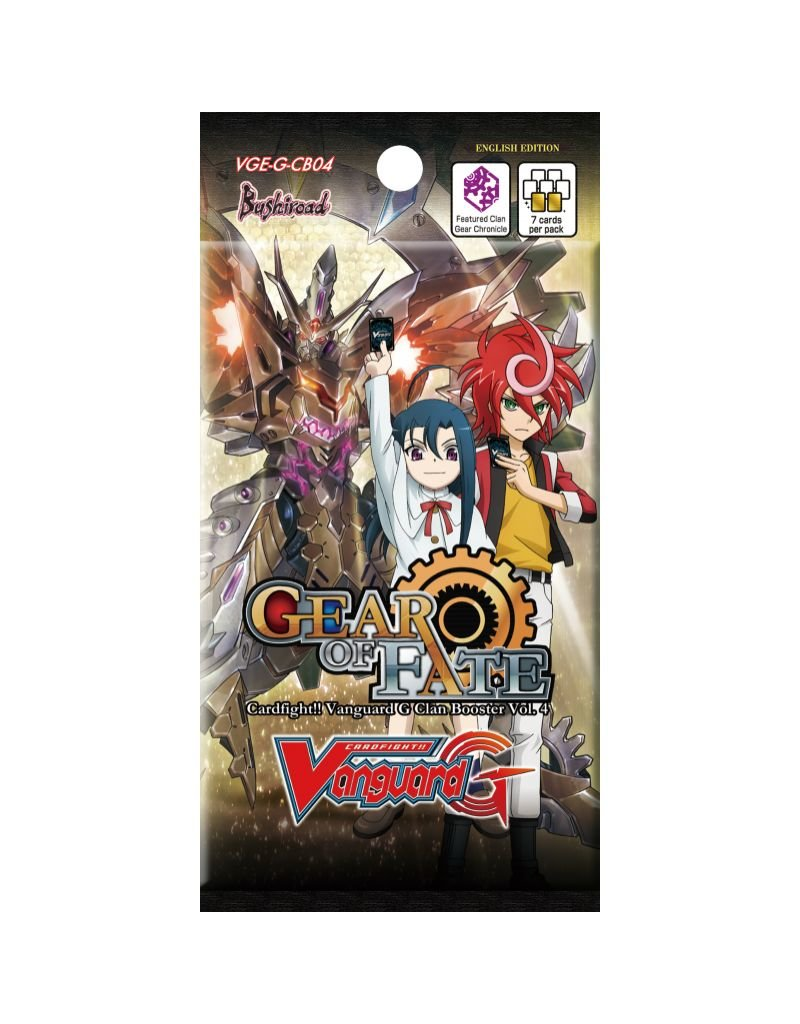 Bushiroad Vanguard - CB04 - Gear of Fate - Booster