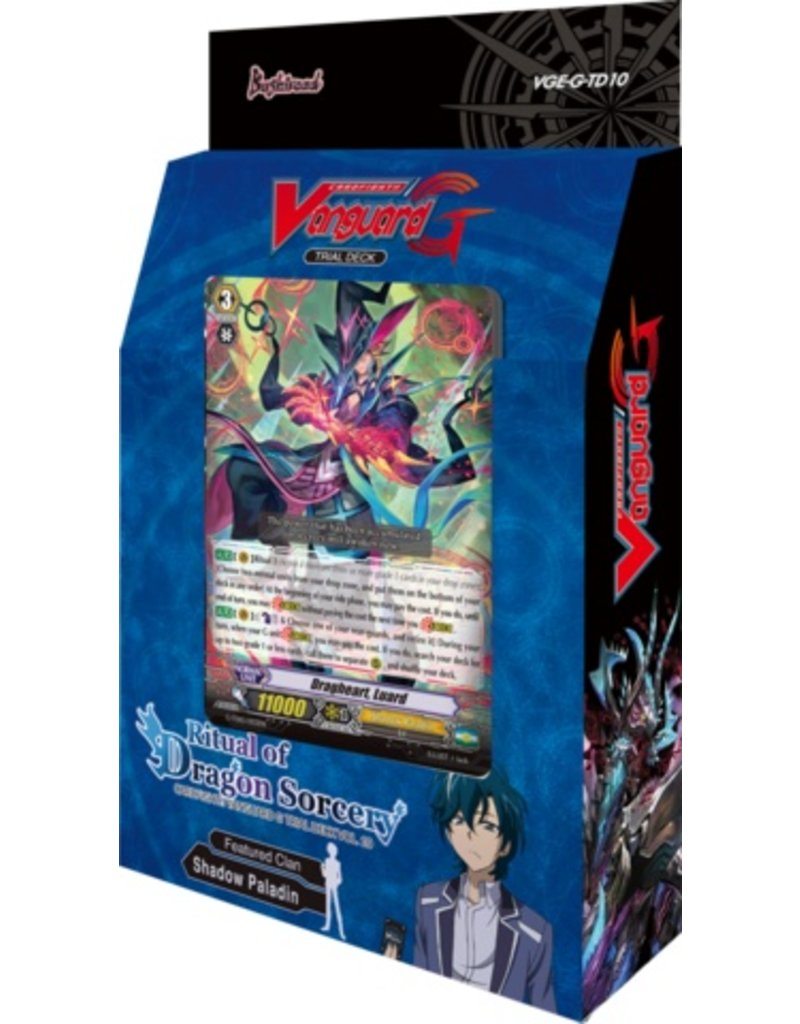 Bushiroad Vanguard - GTD10 - Ritual of Dragon Sorcery - Trial Deck