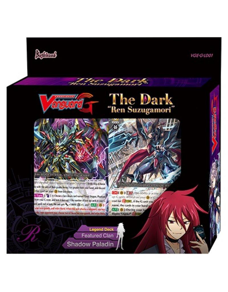 "Bushiroad Vanguard - G-LD01 - The Dark ""Ren Suzugamori"""