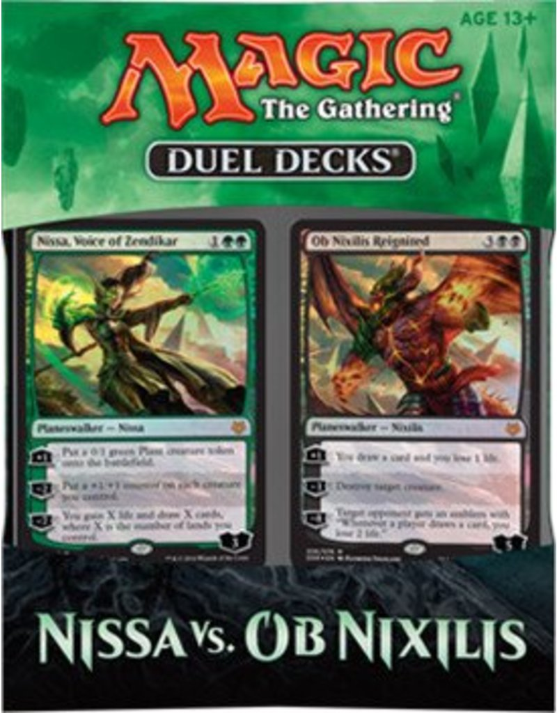 Wizards of The Coast Magic The Gathering - Duel Decks - Nissa VS OB Nixilis
