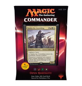 Wizards of The Coast Magic the Gathering - 	Commander 2016 Deck - Open Hostility