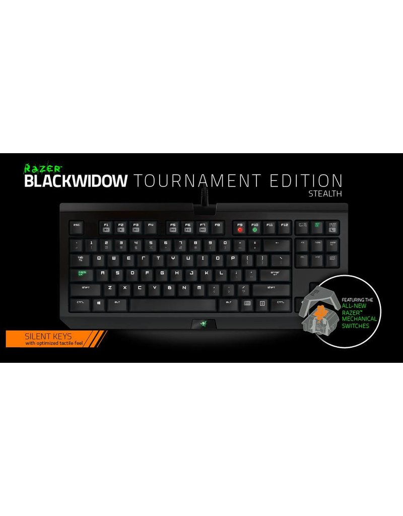 Razer Razer - Blackwidow Tournament Edition Stealth