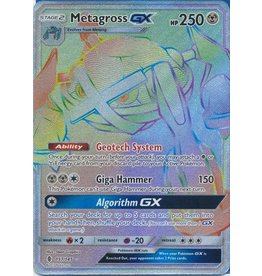 Pokemon Metagross GX - 157/145 - Secret Rare Hyper Rare