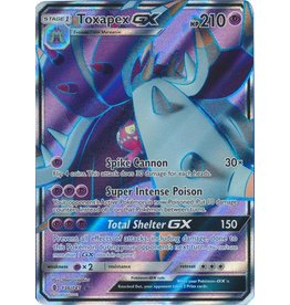 Pokemon Toxapex GX - 136/145 - GX Ultra Rare Full Art