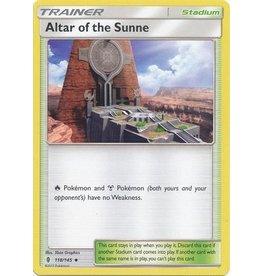 Pokemon Altar of the Sunne - 118/145 - Uncommon