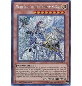 Master Peace, the True Dracoslaying King - MACR-EN024 - Secret Rare