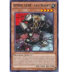 Konami SPYRAL GEAR - Last Resort - MACR-EN087 - Rare