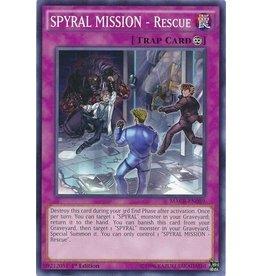 Konami SPYRAL MISSION - Rescue - MACR-EN089 - Common