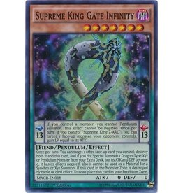 Konami Supreme King Gate Infinity - MACR-EN018 - Super Rare