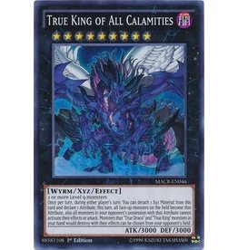 Konami True King of All Calamities - MACR-EN046 - Super Rare