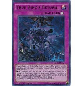 True King's Return - MACR-EN069 - Ultra Rare