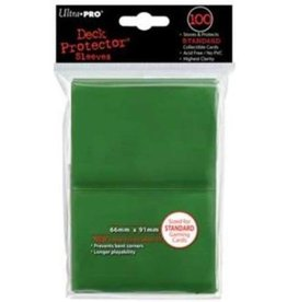 Ultra Pro Ultra Pro - Card Protector Standard (100 ct) - Green
