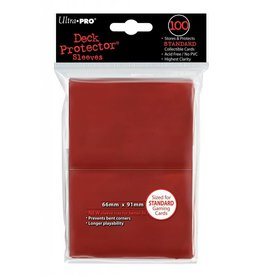 Ultra Pro Ultra Pro - Card Protector Standard (100 ct) - Red