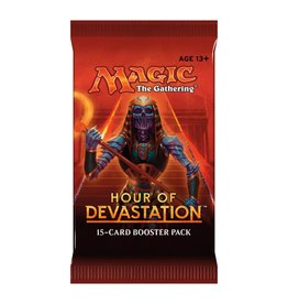 Wizards of The Coast Magic the Gathering - Hours of Devastation - Booster